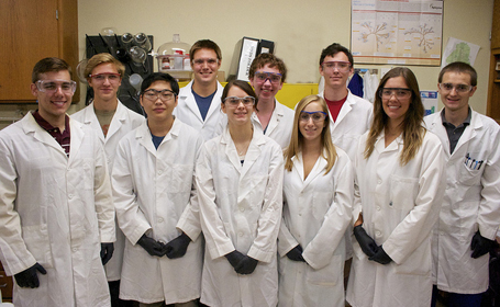 High Schoolers Research Oral Drug Delivery alongside Graduate Students